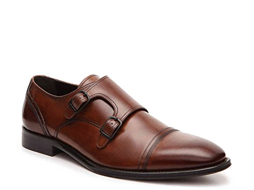 Kenneth Cole New York Mens Mis-chief Double Monkstrap Shoes