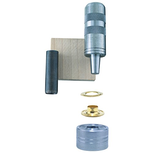 General Tools 71264 Grommet Kit with 12 Grommets, 1/2-Inch - Snap Grommets