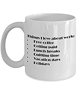 Amazon.com | Funny and best employee coffee mug - Favorite ...