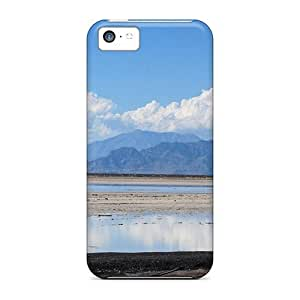 linJUN FENGWaterdrop Snap-on Great Drying Lake Case For iphone 4/4s