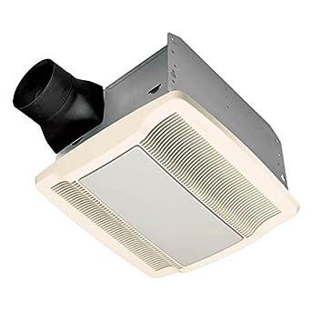 Nutone Qtrn080l 80 Cfm Ventilation Fan Light Broan Bathroom Fan With Light