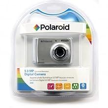 Polaroid CAA-500SC 5MP CMOS Digital Camera with 1.8-Inch LCD Display (Silver)