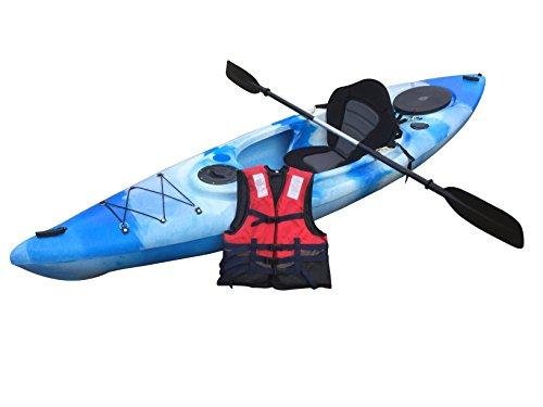 Cambridge Kayaks sit in kayak single canoe sea river fishing (Blue)