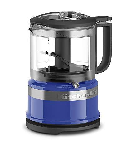 kitchen aid blue food processor - 7