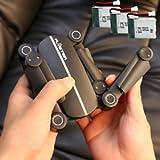 SLB Works Brand New Foldable Q9W MINI wifi HD Camera Drone UFO RC 2.4Ghz RTF Quadcopter + 3x Battery