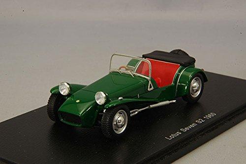 Spark – Lotus Seven S2 – 1960 – Maßstab 1/43, S2222, grün