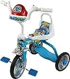 دراجة للاطفال بثلاث عجلات، بيضاء