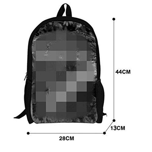 Escuela Bolso Xagoo mochilas 44cm Escuela personaliza Animal 3D para Niños Niñas (Estilo 3) Estilo 3