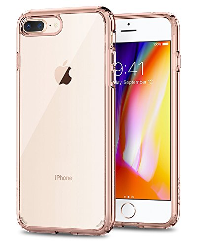 Spigen Ultra Hybrid [2nd Generation] Designed for Apple iPhone 8 Plus Case (2017) / Designed for iPhone 7 Plus Case (2016) - Rose Crystal (Polaroid Phone Case Iphone 5)