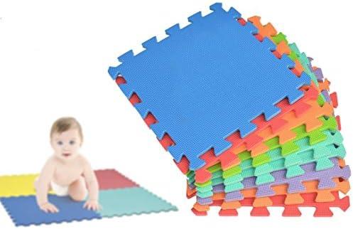 2814 Puzzle infantil de 10 piezas hecho de espuma EVA (30 x 30 cm ...