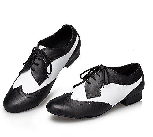 [FERE8890] メンズ ラテン用 シューズ ミックスカラー ダンス用シューズ 社交ダンス 靴