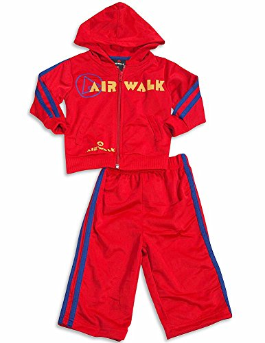 airwalk-baby-boys-2-piece-hoodie-jogsuit-set-red-blue-30175-24months