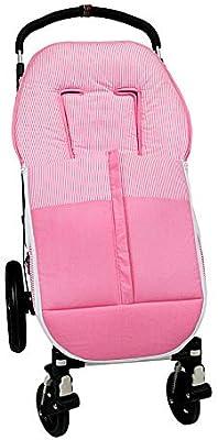 Saco para silla paseo universal con doble cremallera Frontal y ...