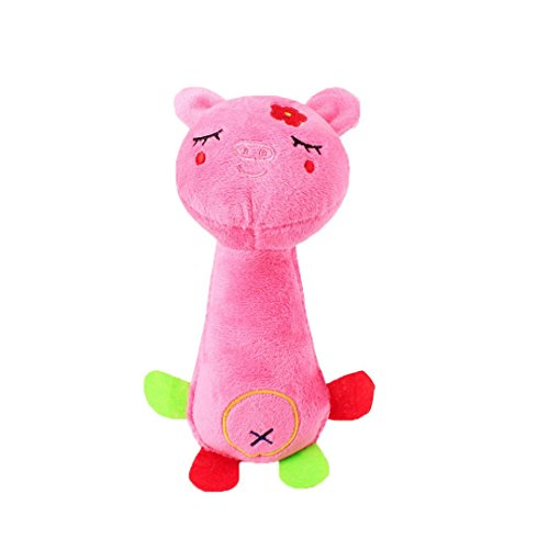 CHOUWUED Lovely Pet Funny Animal Shape Pet Puppy Dog Toys So