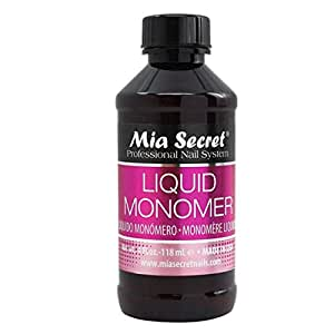 Mia Secret Liquid Monomer Professional Acrylic System, 4 oz.