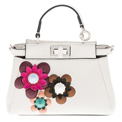 Fendi-Womens-Micro-Peekaboo-Embellished-Flowerland-Flowers-Shoulder-Bag-White