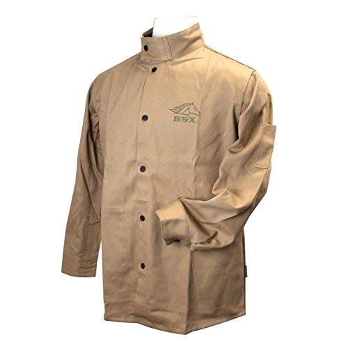 Cotton Welding Jacket - BSX Flame Resistant Cotton Welding Jacket