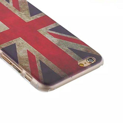 """For iPhone 6 Plus 5.5"""" Design Mignon dur Matte Case PC, Yaobai Cover Case Mode Impression dure de PC Matte Retour Effacer protection Slim Ultra Perfect Fit Case pour Apple iPhone 6 Plus 5.5"""""""