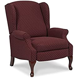 Lane Home Furnishings 2581 Hampton 1644-40 Recliner, Burgundy/Ivory