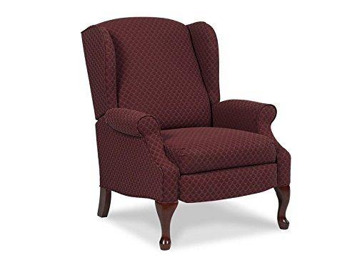 Lane Home Furnishings  Recliner, Burgundy/Ivory (Leg Anne Queen)
