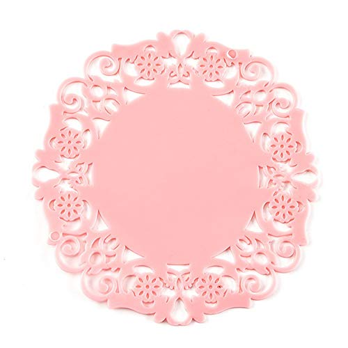 Elevin(TM)  PVC Coaster Mat Pad Cushion Drinks Tea Cup Tableware Placemat Decoration by Elevin(TM) _ Home Decor & Kitchen