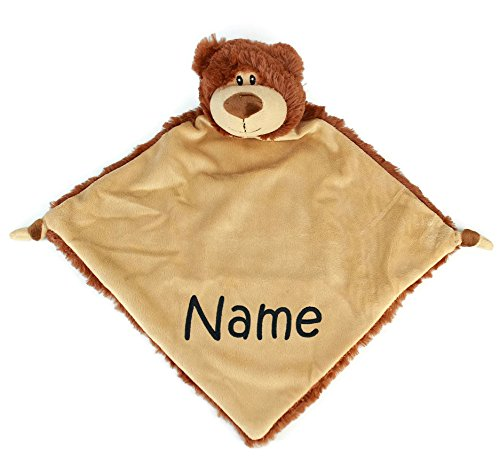 Personalized Baby Blanket, Bear