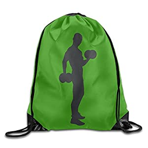 Djb568kk I Just Really Like Dumbbell Drawstring Bags Sports Backpack Sport Bag For Men & Women