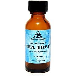 Tea Tree Essential Oil Organic Aromatherapy Therapeutic Grade 100% Pure Natural 1 oz, 30 ml