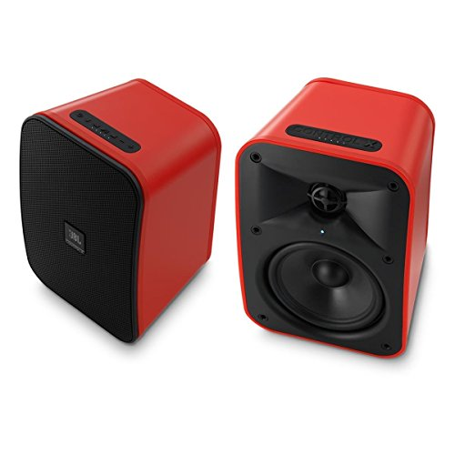 JBL Control X Wireless Portable Stereo Bluetooth Speakers, Red