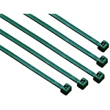 8-in 100-Pack, 75-lb, Dark Green, Standard Nylon Cable Tie