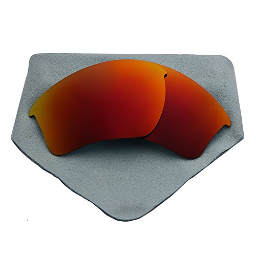 Polarized Lenses Replacement for Oakley Half Jacket 2.0 XL Fire Red - Xl Jacket Lenses 2.0 Half Oakley