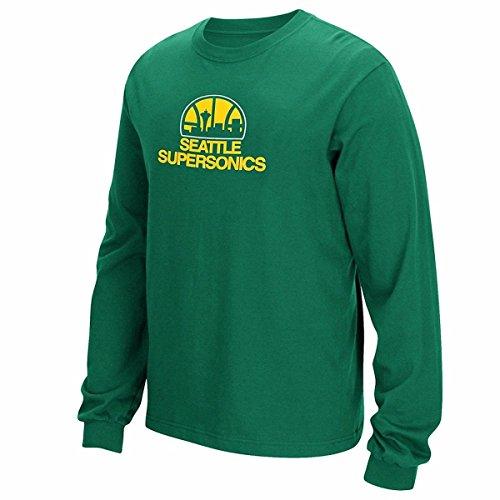 adidas Seattle Sonics Throwback Hardwood Classics Shirt (Medium)