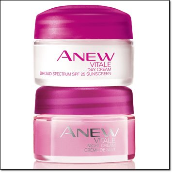 Avon Anew Vitale Day and Night Cream Set of 2