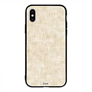 iPhone XS Off White Textile Pattern