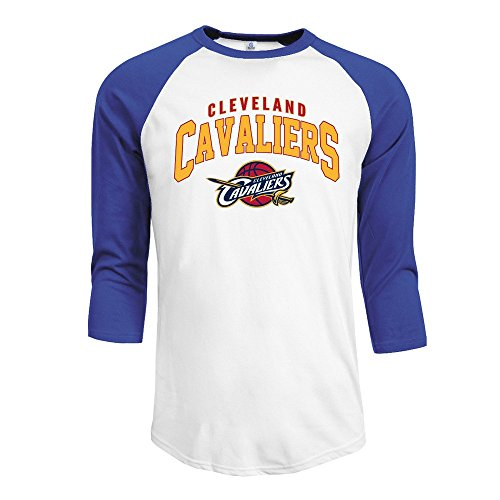 8ab826c82 Men s Invincible CLEVELAND CAVALIERS 3 4 Sleeve Raglan T-Shirt RoyalBlue