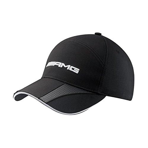 Mercedes-Benz AMG Structured Colorblock Black Baseball Cap