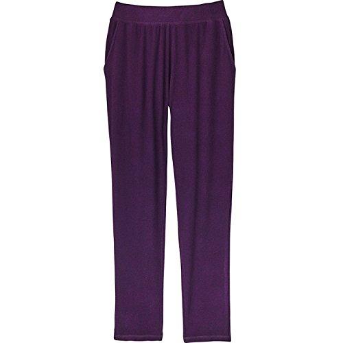 Women's Ultra-Soft Lounge Wear - Pants - Purple - 2X (Purple Sleep Pant)