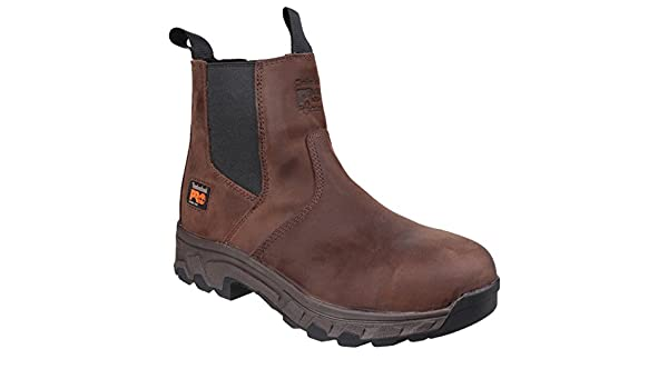 Timberland Pro Workstead Chelsea Steel Toe Safety Mens Work Boots UK6-12