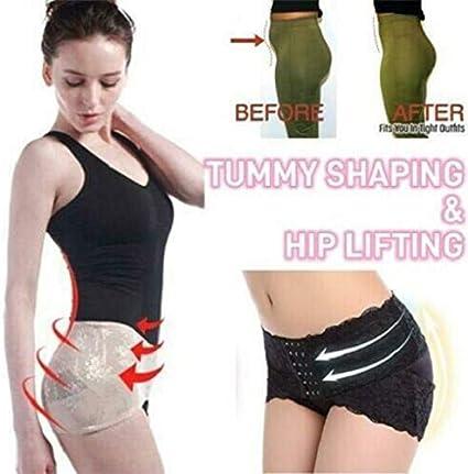 COPYLOVE Pelvis Correction Belt Hip up Women Postpartum Belly Wrap Belts L, Black