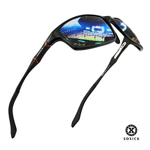 SOXICK Men's HD Fashion Sports Polarized Sunglasses Aluminum-Magnesium Frames Ultra - Sunglasses Your Are Polarized For Good Eyes