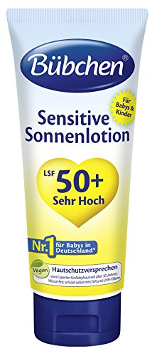 Bübchen Sensitive Sonnenlotion LSF 50plus, 2er Pack (2 x 100 ml)