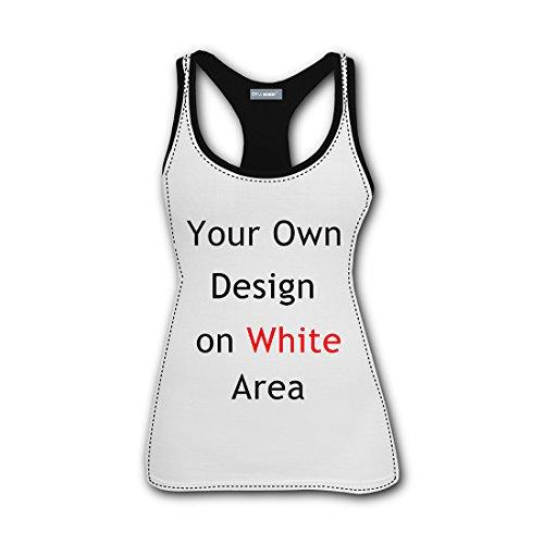 Nice Fish Funny 3D Print Casual Custom Sleeveless Tanks Vest T-Shirt Women Girl L by TuNan (Image #1)