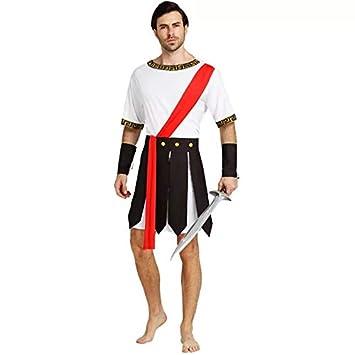 thematys® Disfraz de Gladiador Guerrero Romano para Hombre ...
