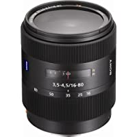 Sony 16-80mm f/3.5-4.5 Carl Zeiss Vario-Sonnar T DT Zoom Lens for Sony Alpha Digital SLR Camera