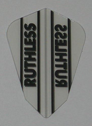 Ruthless Fantail Clear Dart Flights