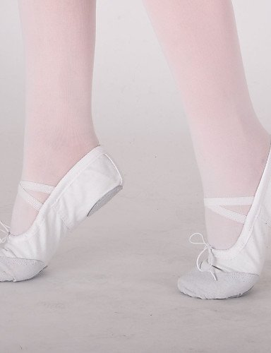 ShangYi Schuh Keine Maßfertigung möglich - Flacher Absatz - Leinen - Ballett - Damen / Kinder Red