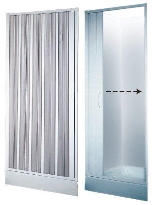 Ihre individuelle Maß Duschtür Duschabtrennung Dusche Duschfalttür Wave 100