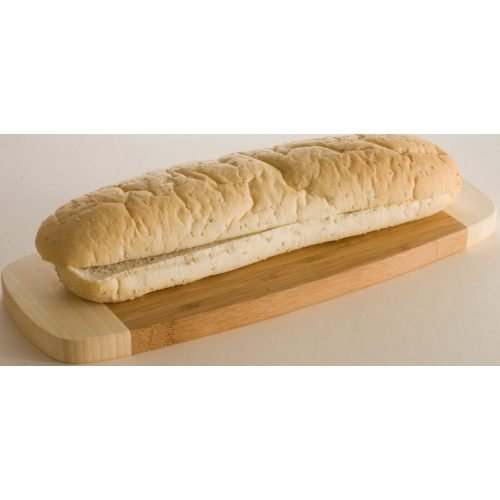 Ralcorp Sub Sliced Bun with Seed, 12 inch -- 32 per case.