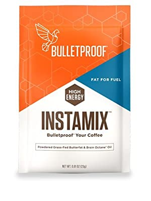 Bulletproof Coffee InstaMix Creamer, Includes Grass Fed Ghee and Brain Octane Powder, Keto Diet Friendly, Instant Energy by Bulletproof
