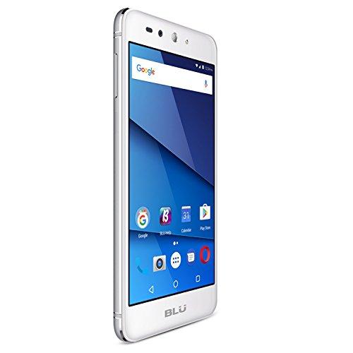 BLU Grand X LTE G0010WW Unlocked GSM Dual-SIM Phone w/ 8MP Camera - Silver